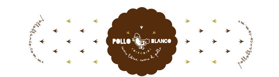 Logotipo Editorial Pollo Blanco